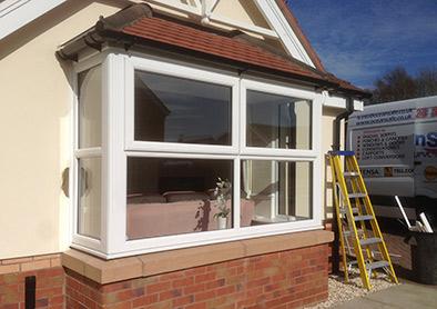 Double glazing windows scarborough upvc windows doors for Box bay windows for sale